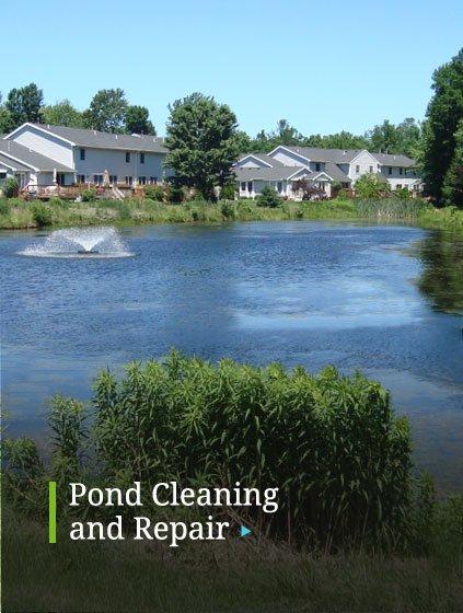 Pond Cleaning Repair Maintenance Company Newburgh, NY