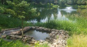 pond filtration system for one acre ponds or larger