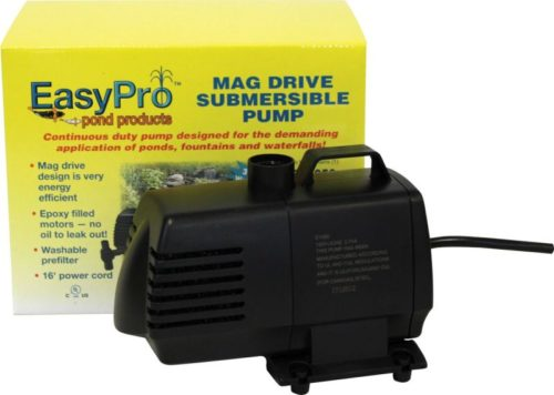 EasyPro mag Drive Submersible Pump for Ponds Fountains