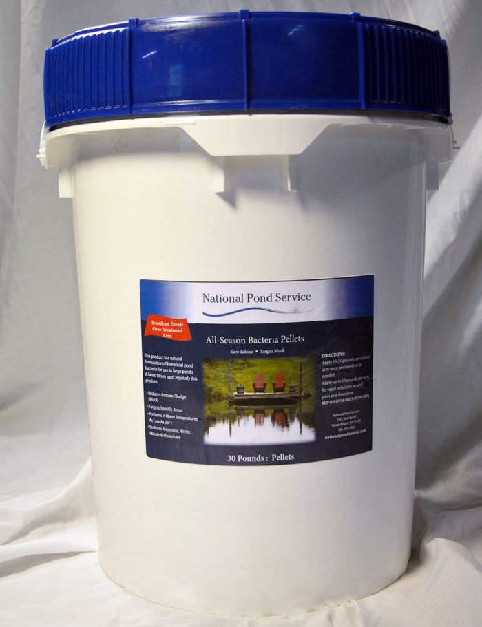 all season bacteria pellets pond water treatment