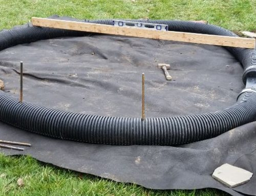 Country Pond Filter frame material